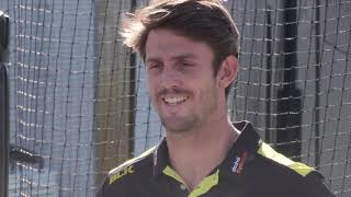 Mitchell Marsh speaks to media ahead of pre-season - CRICKETWORLDMEDIA
