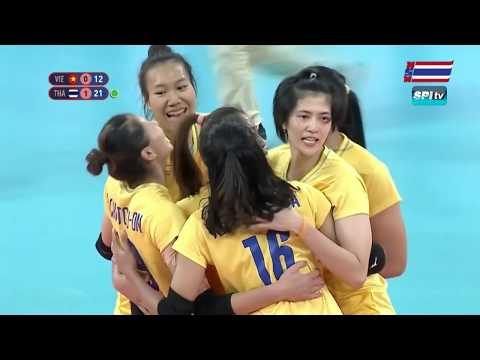 ไฮไลท์ วอลเลย์บอลหญิง รอบชิงฯ ไทย v เวียดนาม (เซทที่ 2) 9 ธ.ค. 2019