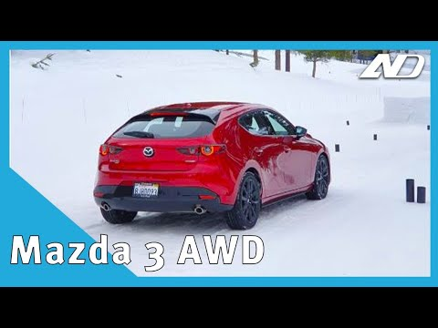 Manejé el nuevo Mazda 3 AWD... ¡En la nieve! - Primer Vistazo