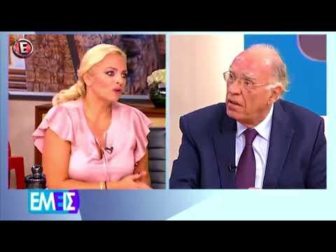Β. Λεβέντης / Εμείς με τη Χριστίνα Λαμπίρη ,  E TV / 21-9-2017