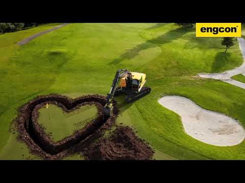 Love digging again with an engcon Tiltrotator