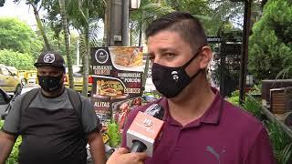 Video: En enfrentamiento terminó intento de robo en un bar de la Av. Nutibara - Telemedellín