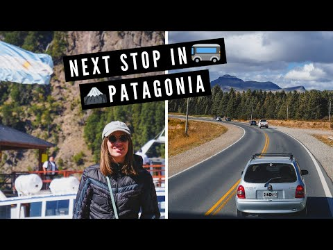 Our PATAGONIA TRIP Continues! | Traveling by BUS from VILLA LA ANGOSTURA to SAN MARTIN DE LOS ANDES
