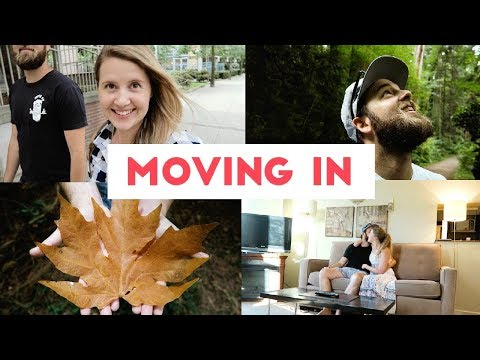 MOVING IN TO OUR STUDIO APARTMENT!   VANCOUVER VLOG 01