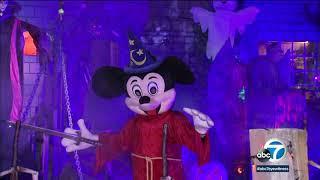 Burbank house creates spooky fun with Disney-themed Halloween decorations