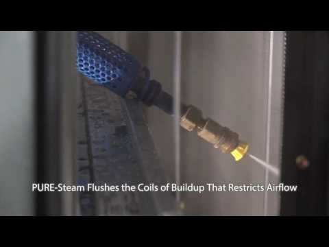 PURE Steam HVAC Coil Cleaning