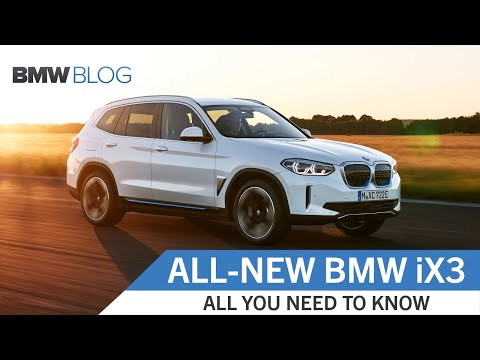 The All-New BMW iX3 – First Look