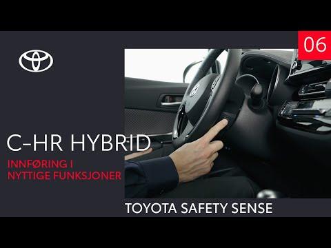 Toyota C-HR Hybrid 2020 - Toyota Safety Sense (6 av 10) - Innføring i nyttige funksjoner
