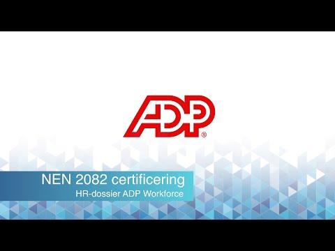 ADP Workforce HR dossier NEN2082 [4min]