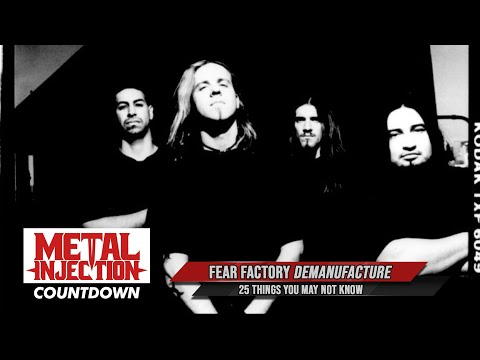 25 Things About FEAR FACTORY's Demanufacture You May Not Know | Metal Injection | Metal Injection