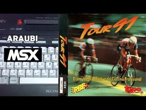Tour 91 (Topo Soft, 1991) MSX [095] El Kiosko