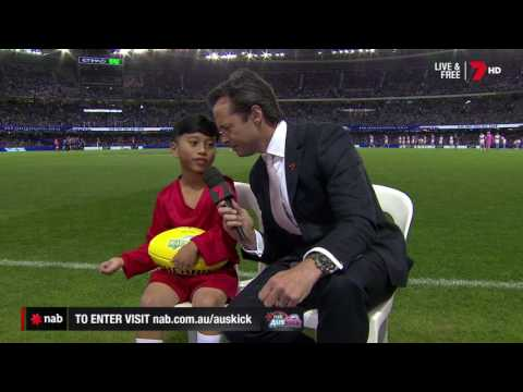 2017 NAB AFL Auskicker of the Year – Rd 4 Nominee