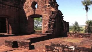 Jesuit ruins near Encarnacion, Paraguay