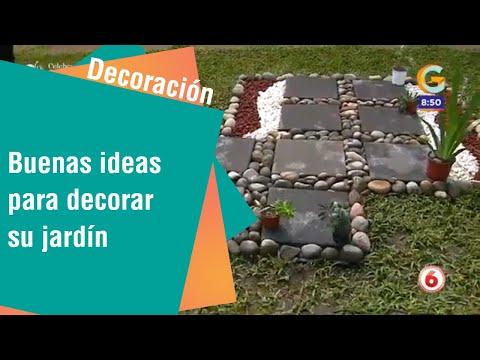 Buenas ideas para decorar su jardín   Decoración