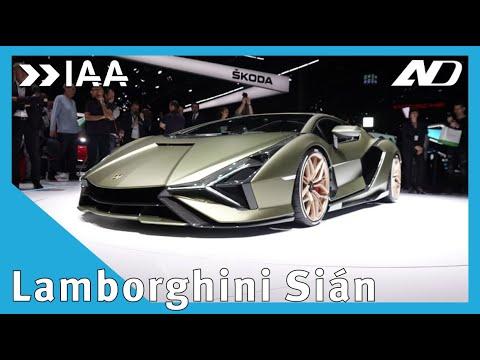 El primer Lamborghini Híbrido ya está aquí: Sián - IAA2019
