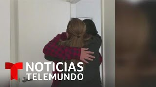 Finalmente dejan el garaje para vivir en un apartamento   Noticias Telemundo