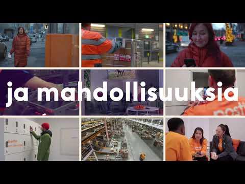 Me Postissa olemme liikkeessä 24/7. Meillä on tuhansia tarinoita ja kiinnostavia työmahdollisuuksia, lue lisää www.posti.com/tyopaikat