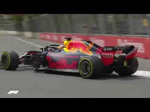 2018 Azerbaijan Grand Prix: FP1 Highlights