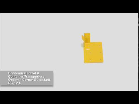 Optional Corner Guide Left for Container Transporters CG-12-L