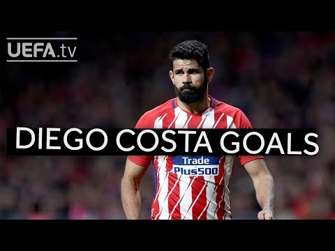 Watch five great Diego Costa goals