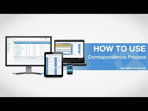 Document Management and Processes - Correspondence Process