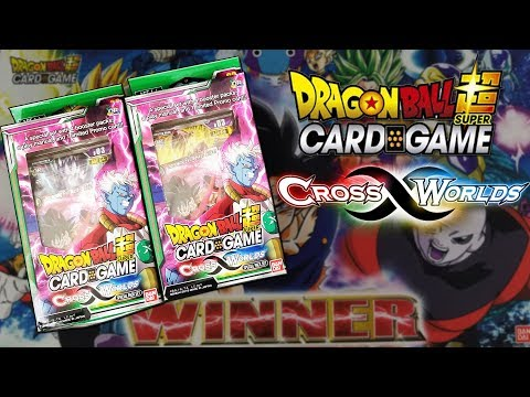 Opening 2 Dragon Ball Super Cross Worlds Special Packs!