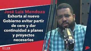 Mendoza exhorta al nuevo Gobierno dar continuidad a planes y proyectos necesarios