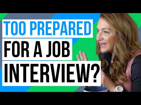 Can You Ever Be TOO Prepared For An Interview? photo