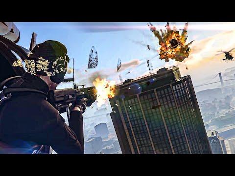 GTA 5 and GTA Online Trailer 4K (PS5)