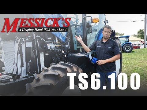 New Holland's TS6.100 | Not all tractors are for farming. Picture