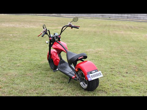 How to release the speed of the Harley electric scooters Rooder citycoco Chopper