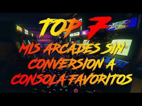 """Mis juegos Arcade favoritos sin conversión a consola - AVOP """"TOP 7"""""""