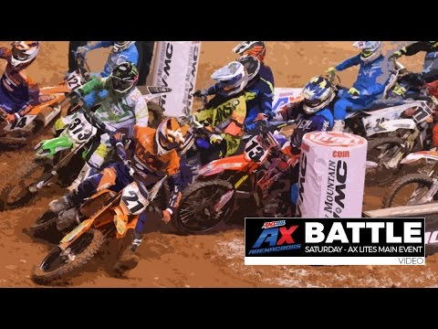 BATTLE: Saturday AX Lites Main Event - Baltimore / AMSOIL Arenacross