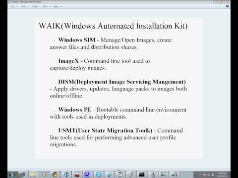 Deployment Series: Intro to WAIK with Windows 7 and Windows Server 2008 R2 by CED Solutions