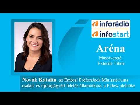 InfoRádió - Aréna - Novák Katalin - 2020.06.29.