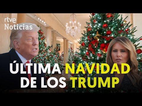 MELANIA TRUMP decora de NAVIDAD la CASA BLANCA | RTVE Noticias