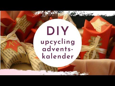 DIY Upcycling Adventskalender - Adventskalender einfach selber machen aus Klopapierrollen