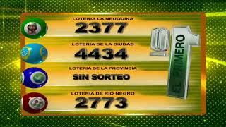 RESULTADO DE QUINIELA EL PRIMERO Nº 23421 / 01-06-20 - LOTERIA LA NEUQUINA