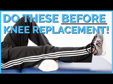 Top 5 Exercises To Do Before Knee Replacement