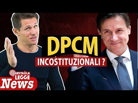 DPCM INCOSTITUZIONALI? | avv. Angelo Greco