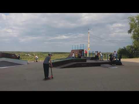 Скейт площадка в Сыктывкаре