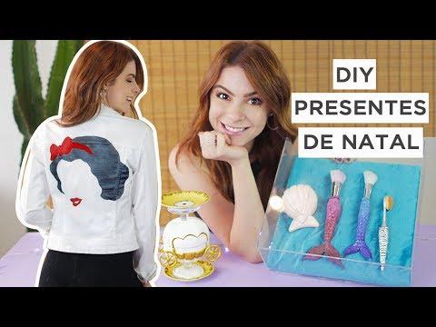 DIY Presentes de Natal incríveis 🎄 Faça Você Mesmo!!! 🎁