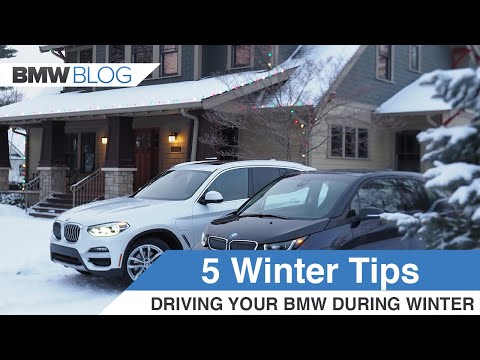 5 Winter Weather Tips For Your BMW