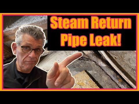 Underground Steam Pipe