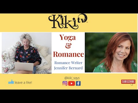 Romance Writer Jennifer Bernard - Daily Yoga is Part of Her Dedicated Success