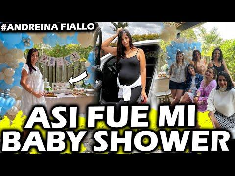 Andreína Fiallo *EL MEJOR BABY SHOWER para nuestro ANHELADO Hijo* TE AMAMOS con el CORAZÓN