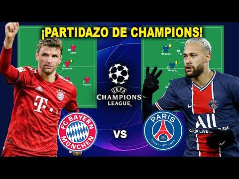 BAYERN vs PSG | PARTIDAZO DE INFARTO| PREVIA y ANÁLISIS | Cuartos de final de Champions
