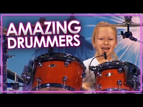 AMAZING Drummers on Got Talent | Top Talent