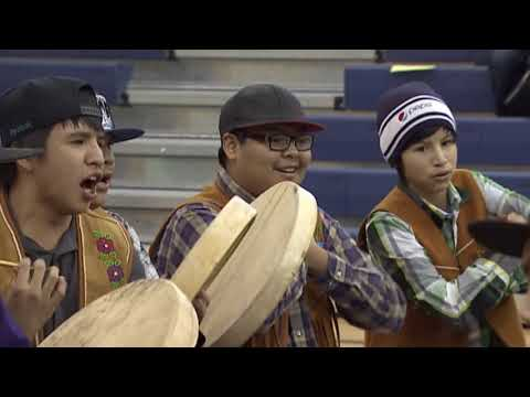 What are Dene hand games?