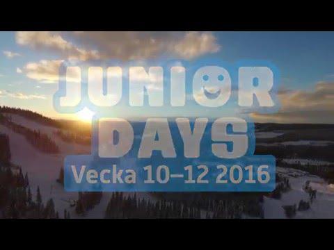 Junior Days vecka 10-12 2016